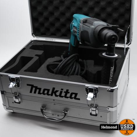 Makita HR2230 SDS-plus boorhamer in koffer - 710W - 2,2J   ZGAN in Kist