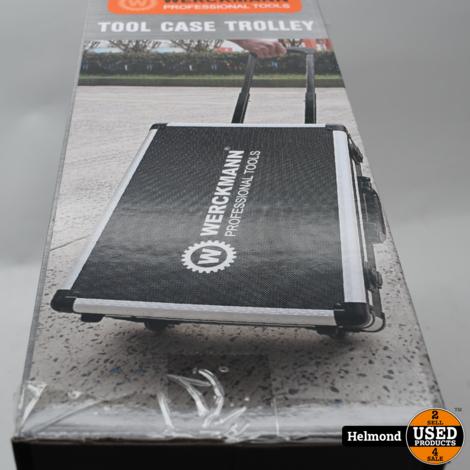 Werckmann Tool Case Trolley 88x Gereedschap set   Nieuw