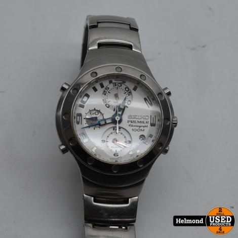 Seiko 7T32-7H80 Heren Horloge | Gebruikt