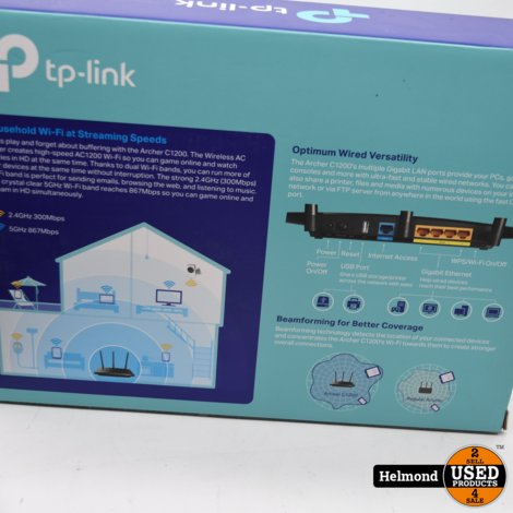 TP-Link Archer C1200 Router   In Nette Staat