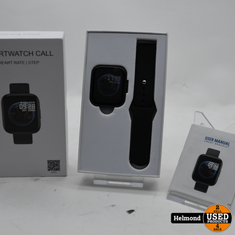 Smartwatch Call Heart Rate Step | In Nette Staat