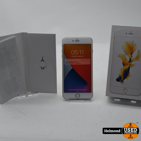 Apple iPhone 6S Plus 64Gb Gold   In Nette Staat