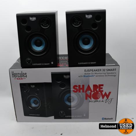 Hercules DJ Speaker 32 Smart Bluetooth Speakers | In Nette Staat