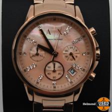 Armani Armani Exchange  AX4326 36mm Rosé Gold Parel Moer   ZGAN