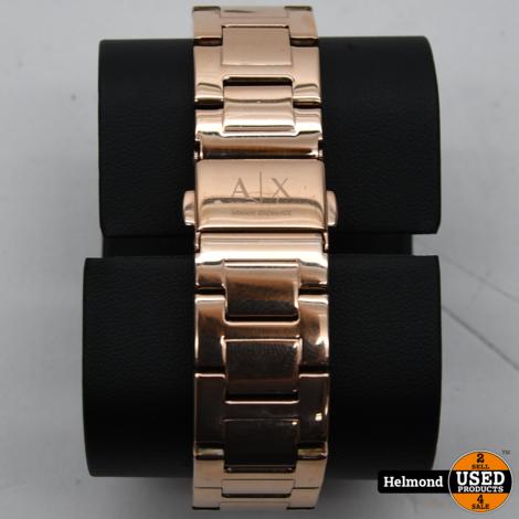 Armani Exchange  AX4326 36mm Rosé Gold Parel Moer   ZGAN