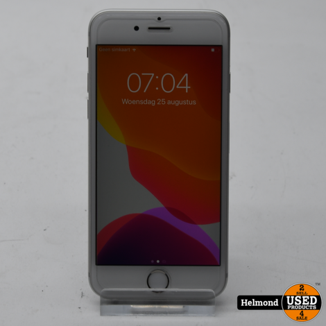 iPhone 6S 16 GB Silver   In Nette Staat