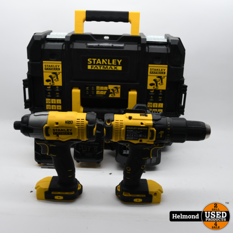 Stanley Fatmax N853604 Accu boor set | In Nette Staat