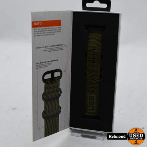 UAG Nato Straps for Apple Watch 44/42 mm | Nieuw in Seal