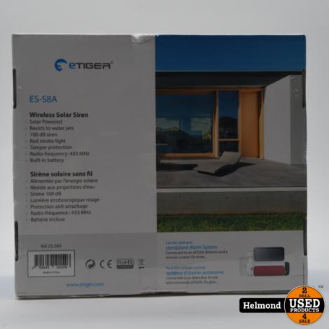 eTiger ES-S8A Alarm  | Nieuw in Seal