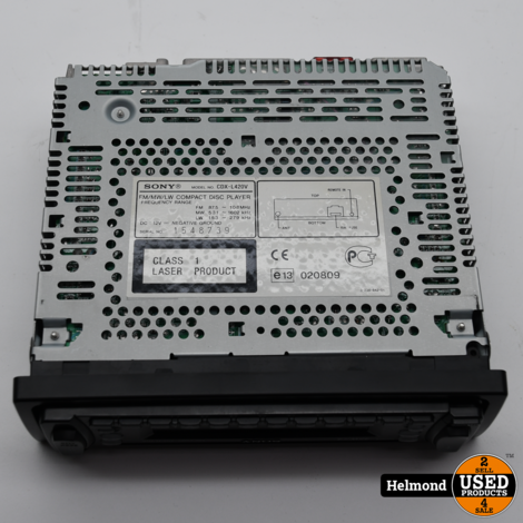 Sony CDX-L420V CD-R/RW Autoradio | In nette staat