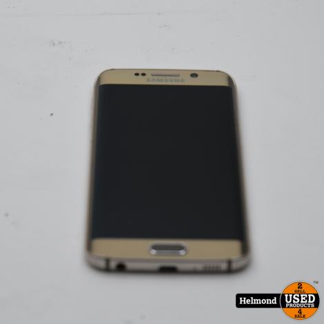 Samsung Galaxy S6 Edge 32Gb Gold Sapphire | Nette staat