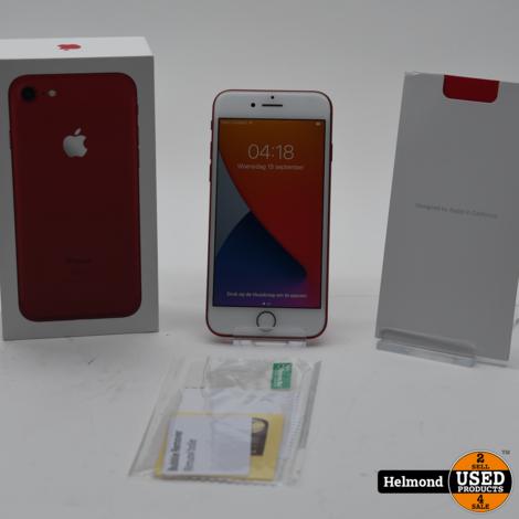 iPhone 7 128GB Red/Rood | In Zeer Nette Staat