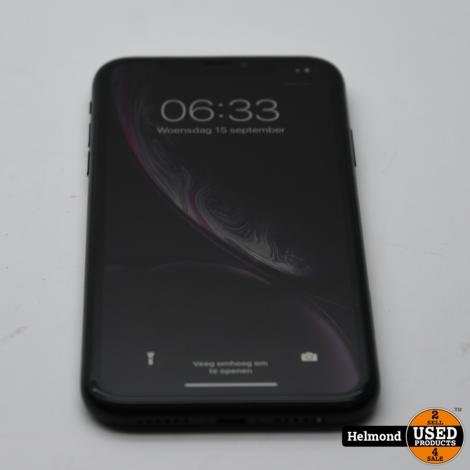 iPhone Xr 64Gb Black | In Nette Staat