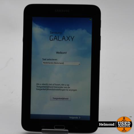 Samsung Galaxy Tab3 Lite SM-T110 8Gb Tablet   In Nette Staat
