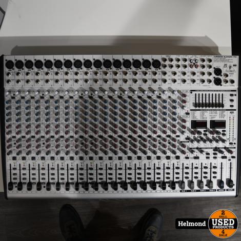 Behringer SL2442FX-Pro 16-kanaals FX Mengpaneel   Nette staat