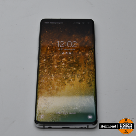 Samsung Galaxy S10 Plus 128Gb White   In Nette Staat