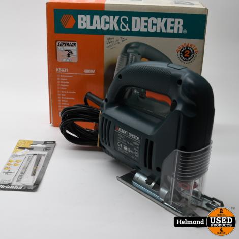 Black&Decker CS1250L Circelzaag   In Nette Staat
