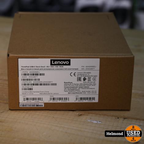 Lenovo Thinkpad 40AS0090EU Docking Station   Nieuw in Seal