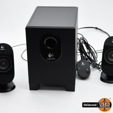Logitech X-210 Computer Speakers Set | In Nette Staat