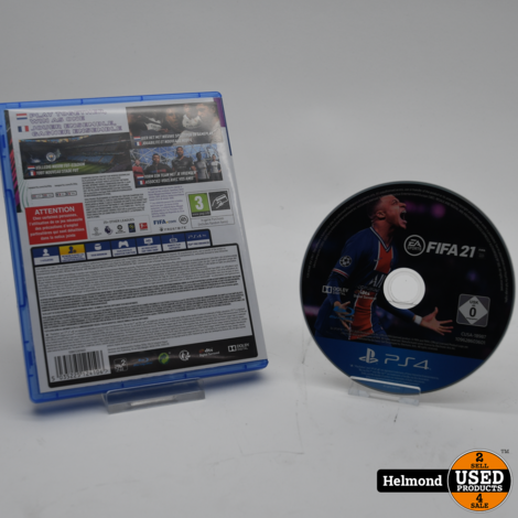 PlayStation 4 Game: Fifa 21   In Nette Staat
