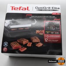Tefal Tefal OptiGrill Elite GC750D16 Grill   Nieuw in Doos