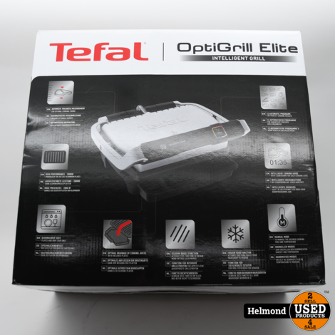 Tefal OptiGrill Elite GC750D16 Grill   Nieuw in Doos