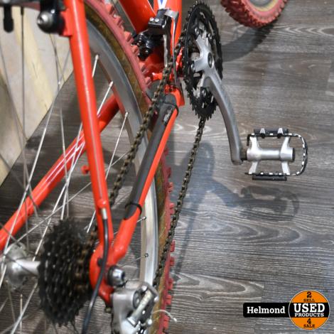 Trek Mountainbike 8000 Hardtail Red-Blue   In Nette Staat