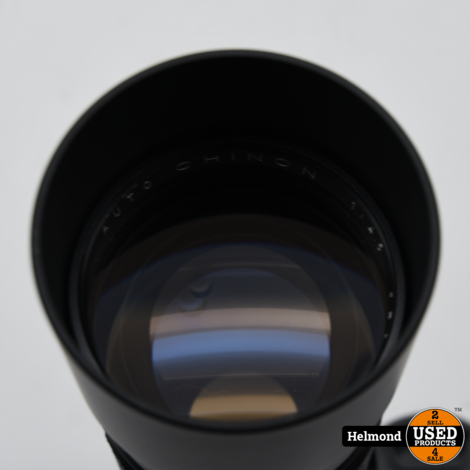 Chinon 300 f5.6 - M42 Fit lens Zwart   In Nette Staat