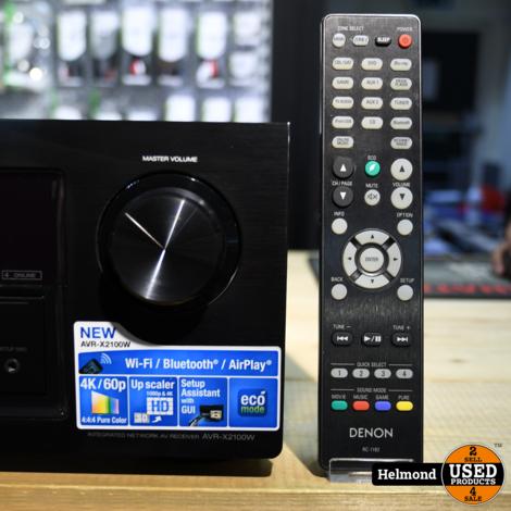 Denon AVR-X2100W Receiver   In Nette Staat