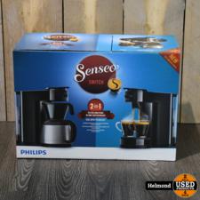 Philips Philips Senseo HD6592 Switch 2-1 filter en Pads koffiezetapparaat   Nieuw in doos
