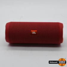 JBL JBL Flip 4 Bluetooth Speaker Rood   In Nette Staat