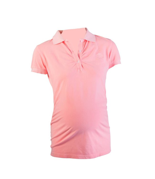 Active Mama Polo shirt coral