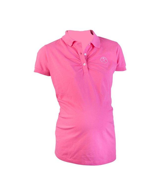 Active Mama Polo shirt pink