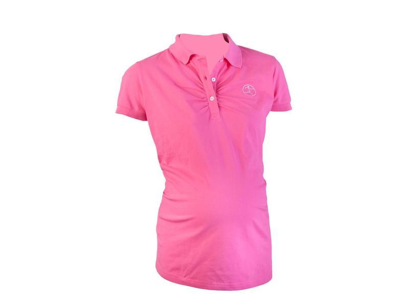 Active Mama Polo shirt maternity