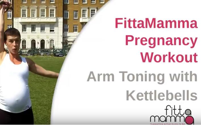 Workout video kettlebells