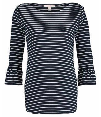 Esprit Sweater blauw wit gestreept