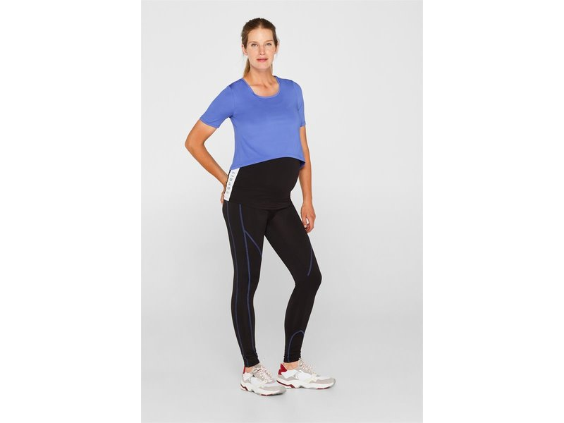 Esprit Sportlegging blauw accent