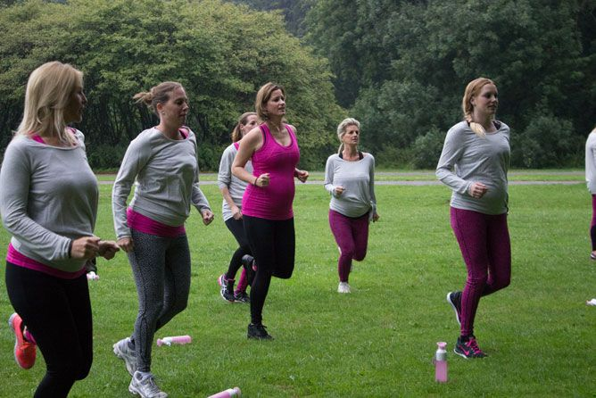 Bootcamp tijdens zwangerschap