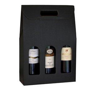 Cadeauverpakking voor 3 flessen