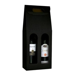Cadeauverpakking met 2 flessen wijn