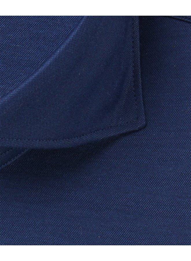 Uni Donker - Blauw Japanese Knitted