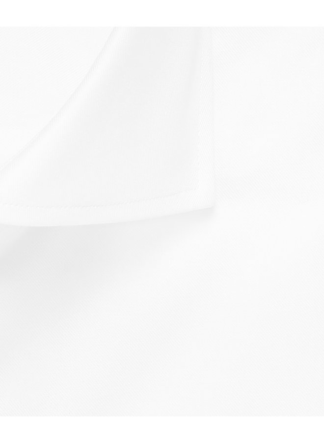 Uni Wit Royal Twill (Niet Doorschijnend)