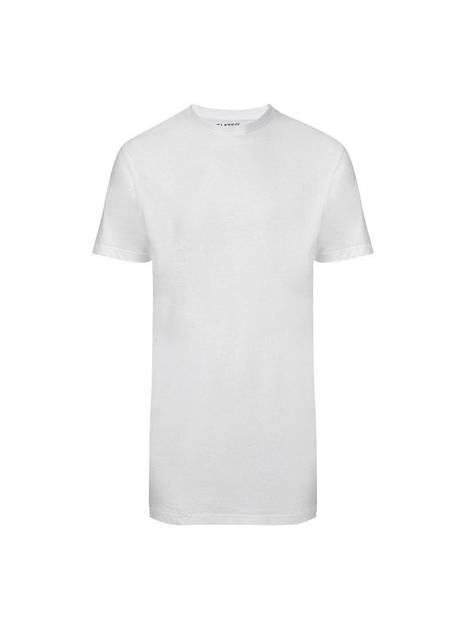 T Shirt Basis Ronde Hals Wit Two - Pack