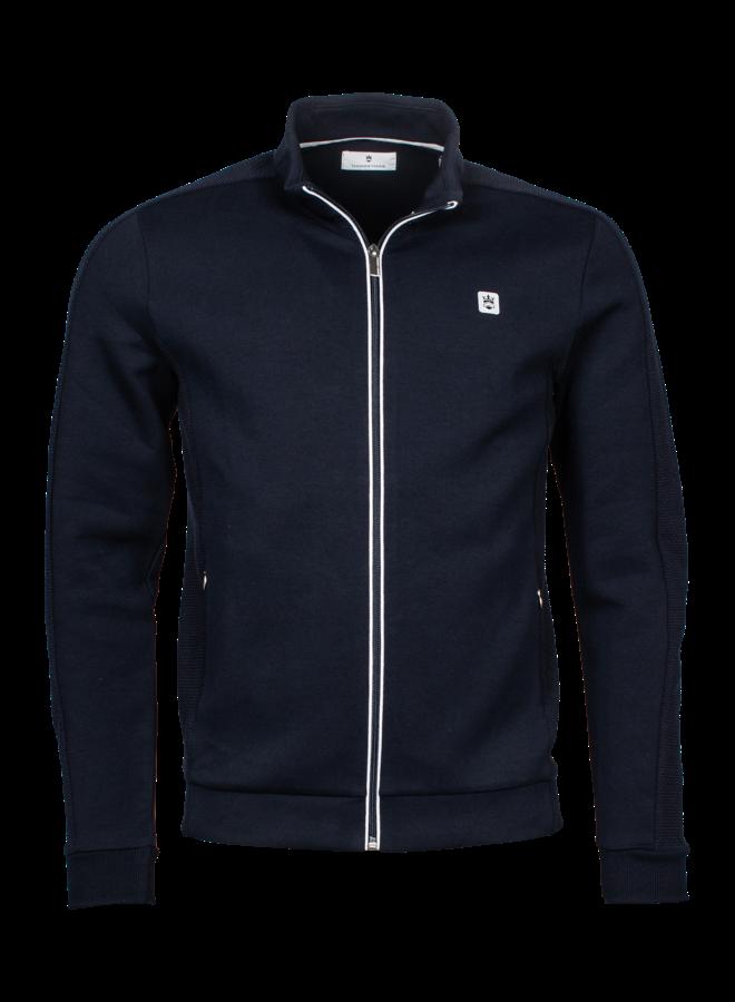 Uni Donker Blauw Sweat - Stof Vest