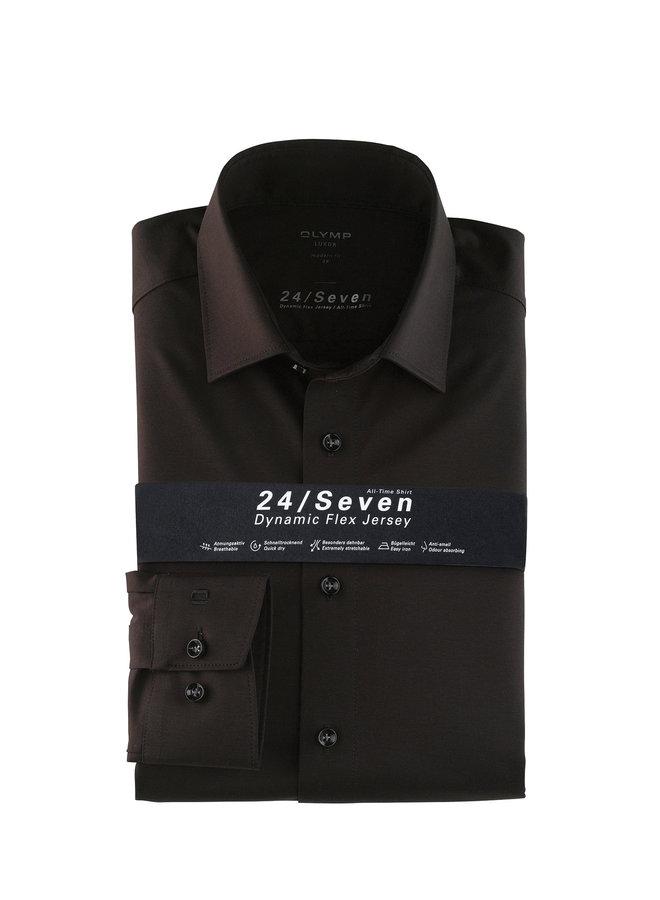 Uni Zwart 24 / Seven Modern - Fit Knitted