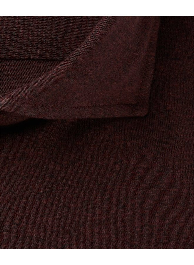 Uni Bordeaux - Rood Knitted Tricot
