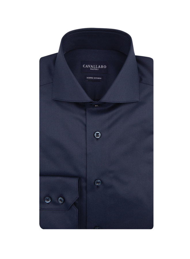 Uni Navy All - Over Natural Stretch