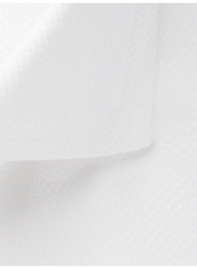 Uni Wit Visgraat Detail Groen