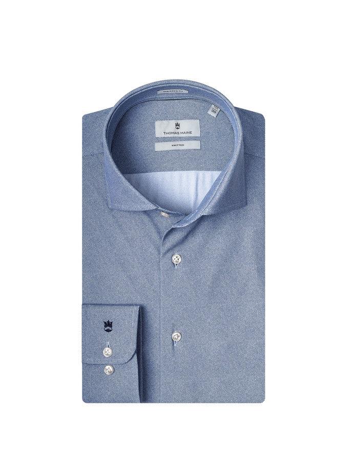 Uni Midden - Blauw Knitted