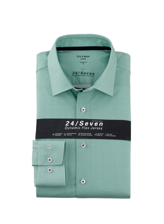 Uni Mint - Groen Knitted 24 / Seven Modern - Fit